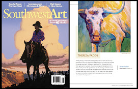 Featured in Southwest Art Magazine
