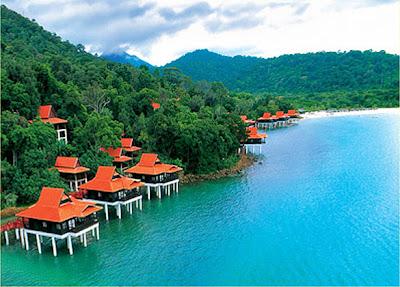 Langkawi island, islands in Malaysia, islands for honeymoon