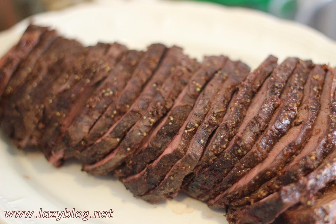 Lazy blog espaldilla de ternera al horno con miel y - Solomillo de ternera al horno con mostaza ...