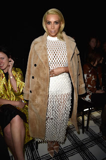 Kim Kardashian at Balenciaga Fashion Show in Paris 6.jpg