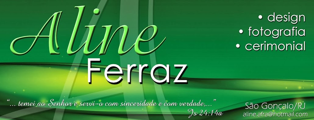 Aline Ferraz - design e fotografia