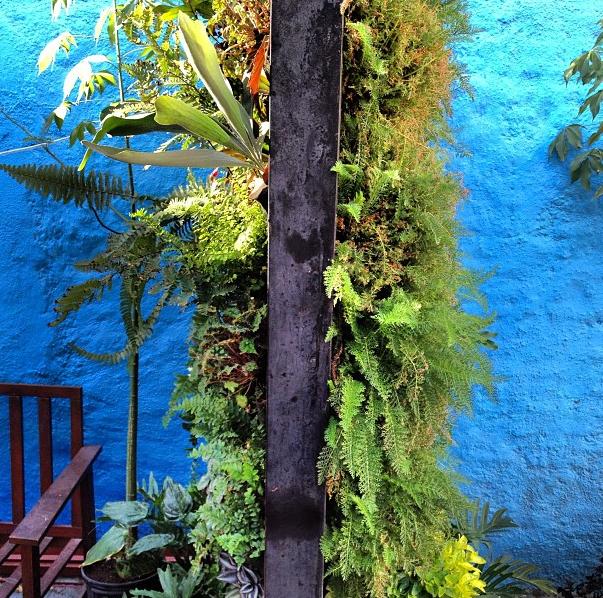 Beneficios de los muros verdes o jardines verticales for Jardines verdes verticales