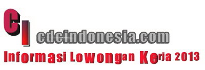 Community Development Career Indonesia |  Lowongan Kerja Terbaru Januari 2013