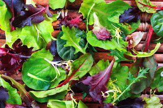 mix of spinach and other nutritious, dark leafy greens
