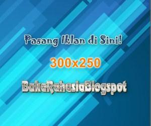 pasang banner iklan 300x250