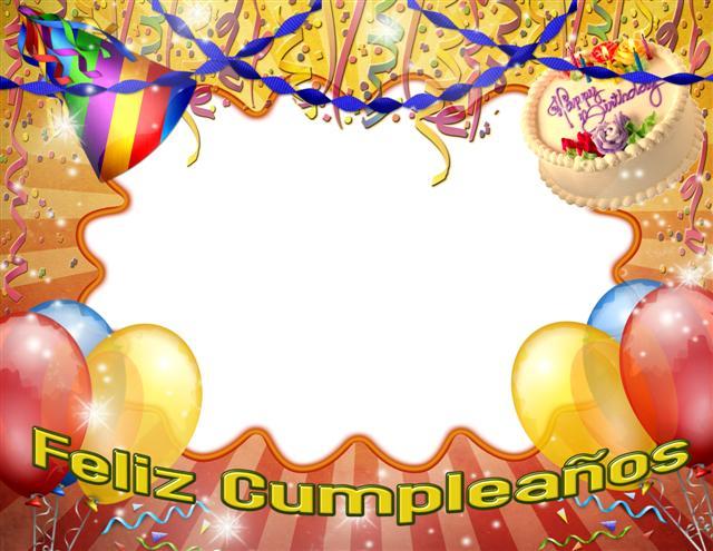 Marco para fotos de cumpleaños gratis | Photo Frames