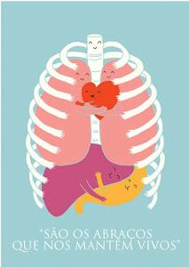 Melhor invenção do Mundo: Abraço.