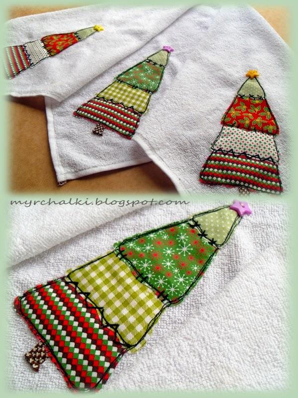 Декор полотенца