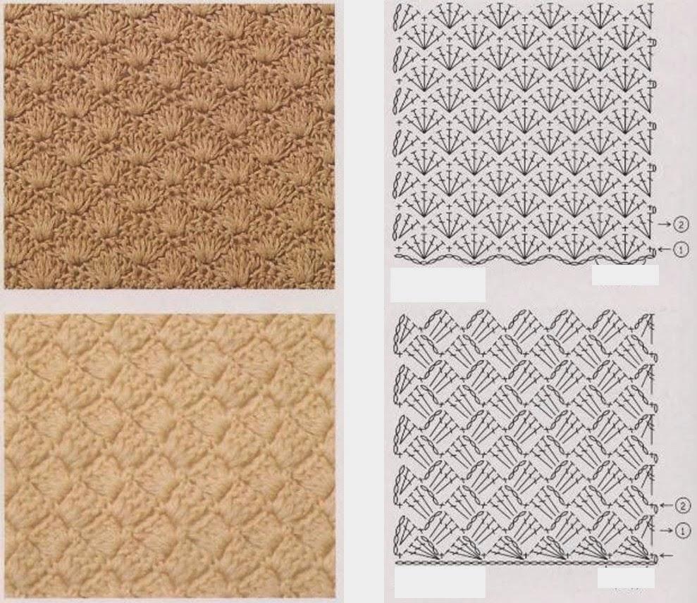 Узоры-резинки для вязания спицами бесплатно 2