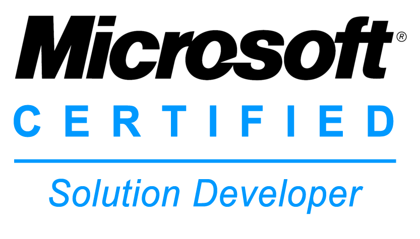 MS Certified Solutions Developer