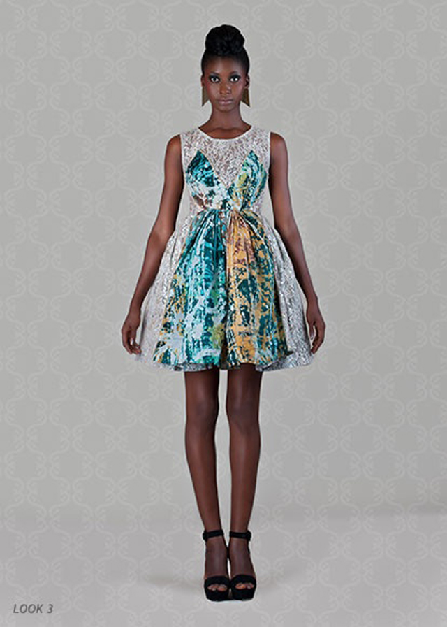 fashionable african print dresses on ciaafrique-christie Brown