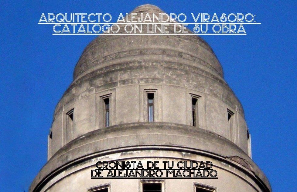Arquitecto Alejandro Virasoro - catálogo on line de su obra