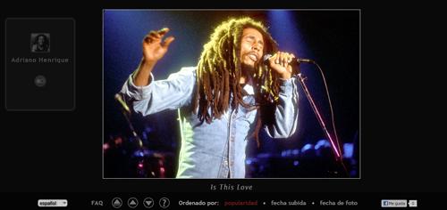 busca las mejores imagenes en perfiles de Flickr con FlickrRock - www.dominioblogger.com