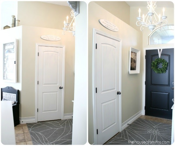 Entry Foyer Closet : Project entryway closet makeover part demo