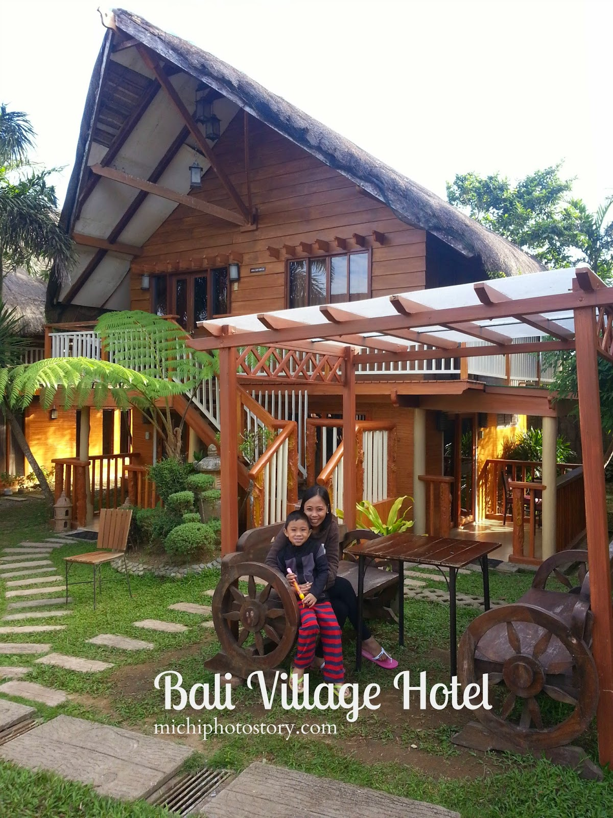 Michi Photostory Staycation Bali Village Hotel