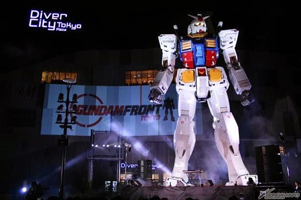 Visitare il Gundam gigante di Odaiba, Tokyo
