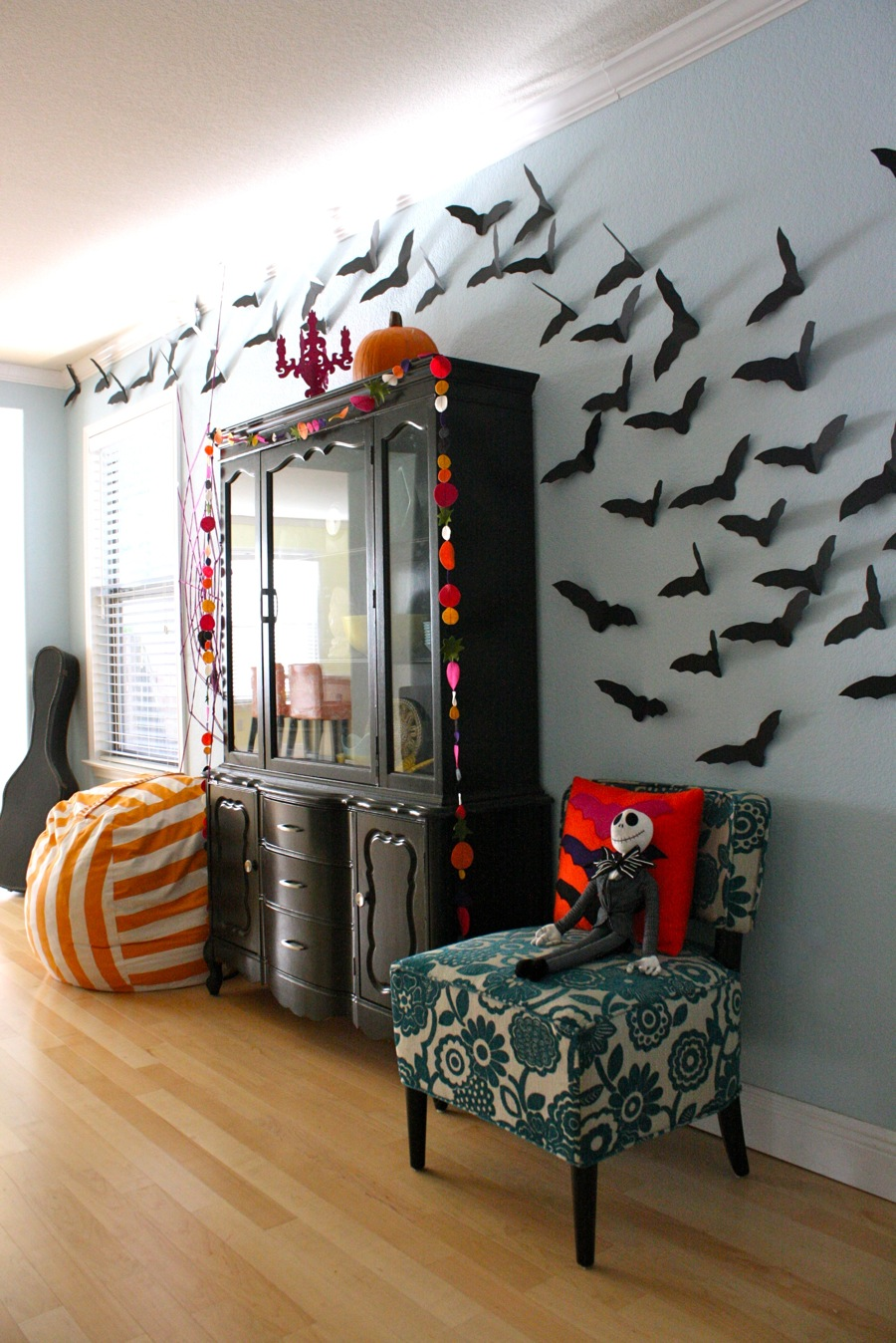 our halloween house using 5 tutorials and a little shopping made everyday - Halloween Home Decor Ideas