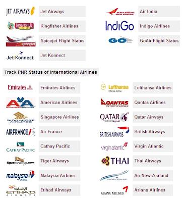 Flight PNR Status