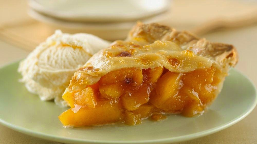 Homestyle  Peach Pie