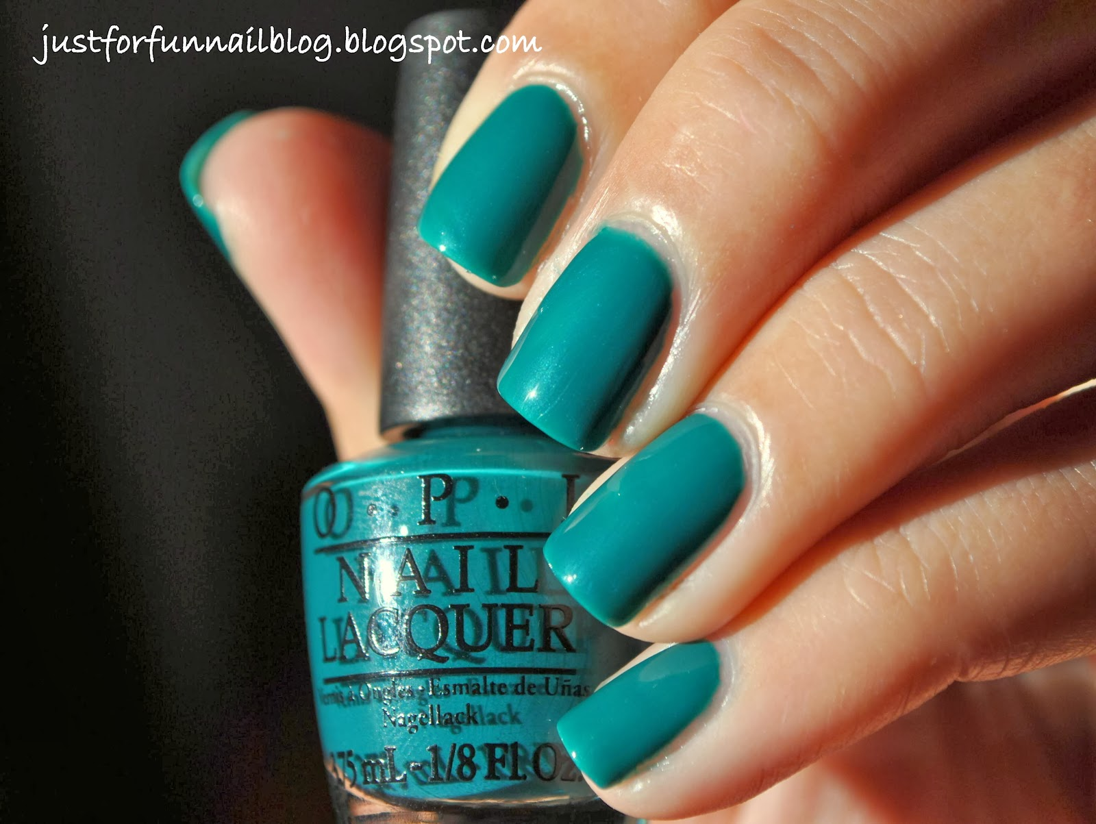 OPI Brazil Collection AmazON... AmazOFF Swatch