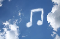 Cloud Music image from Bobby Owsinski's Music 3.0 Blog