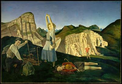 Balthus - La montagne,1936-37