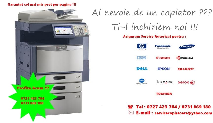 Service copiatoare si imprimante