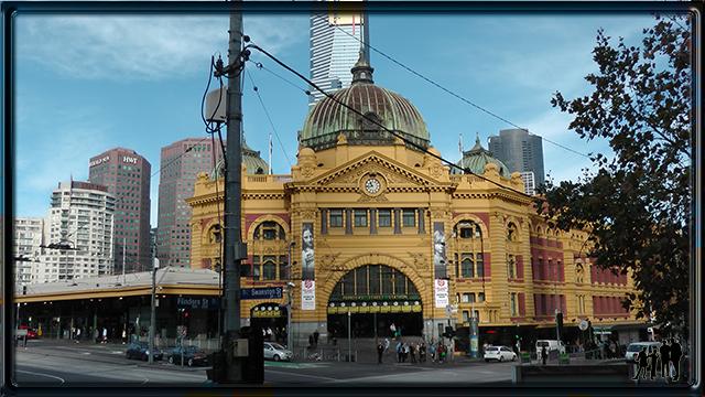 Melborne Flinders Street Station