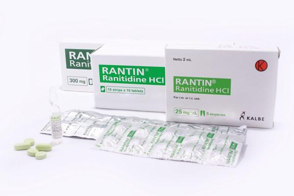 Komposisi Dosis dan Harga Rantin (Ranitidine)