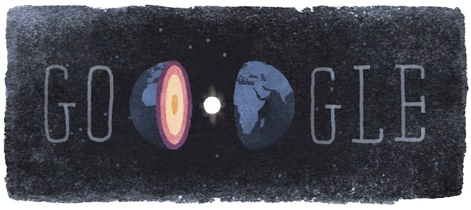 Inge Lehmann's 127th Birthday Google Doodle