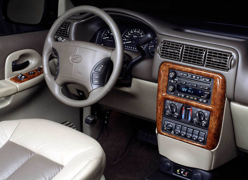 2000 Oldsmobile Silhouette Osv. Oldsmobile Silhouette, 2000