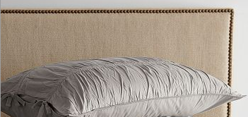 nailhead upholstered headboard from west elm