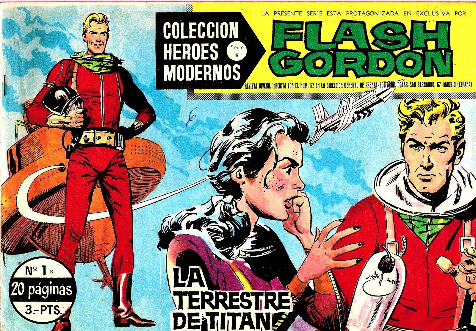 Flash Gordon - Colección Héroes Modernos 1964