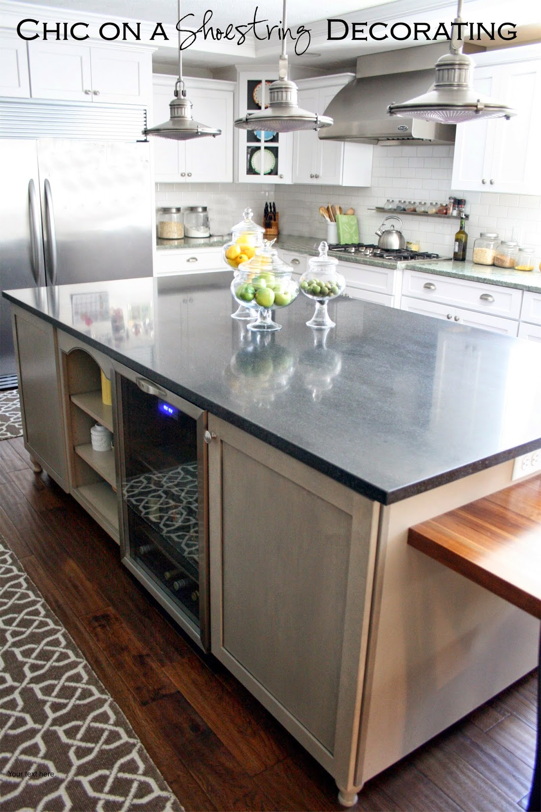 white kitchen remodel farmhouse apron sink subway tile