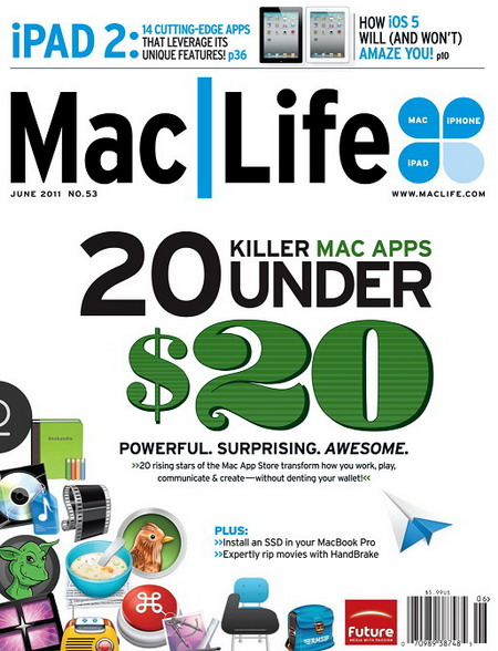 Mac Life Magazine Killers Applications - June 2011