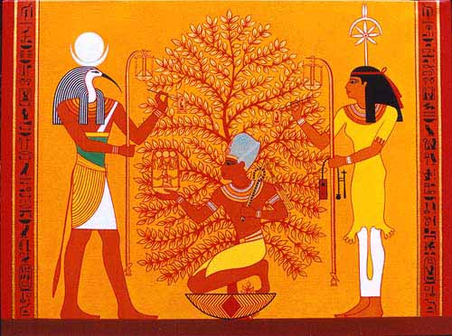 would pay homage to the goddess of the tree of life paut neteru seshat these 7 days would culminate with a great festival on the new year - Origin Of Christmas Tree