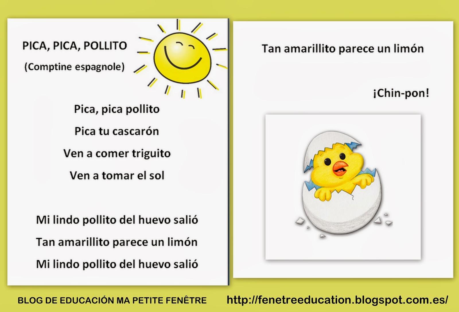 Blog de educaci n ma petite fen tre todo comenz con un for Cancion infantil hola jardin