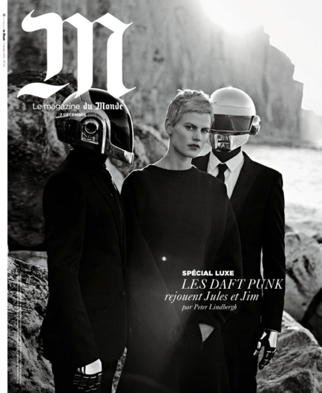 Saskia de Brauw and Daft Punk cover M Le Monde