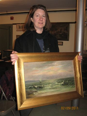 May 3: Conservation of Oil Paintings with Martha Cox