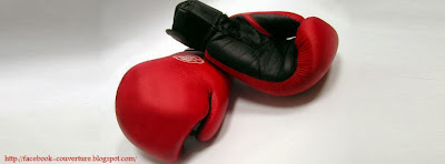 Couverture facebook hd gant de boxe