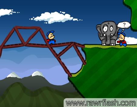 Construa pontes em Cargo Bridge II