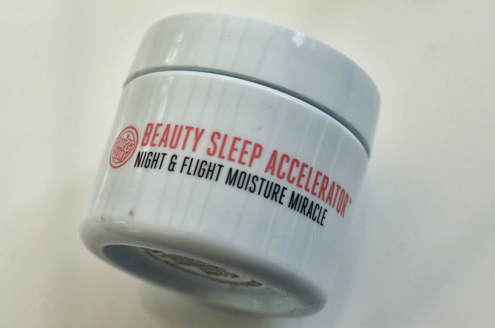 Beauty Sleep Moisturiser, Night and Flight Moisture Miracle by Soap and Glory