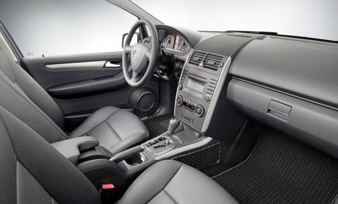 A-Class MkII interior