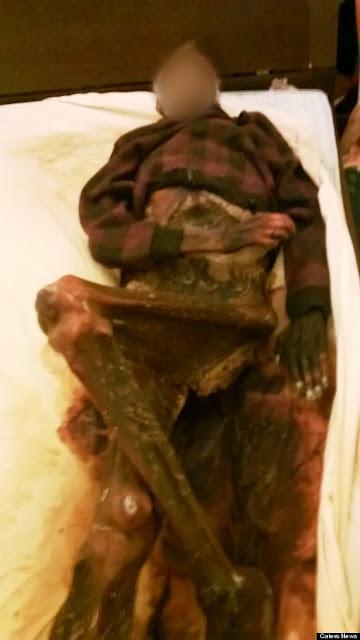 Viúva dorme com cadáver em decomposição do falecido marido (com fotos)