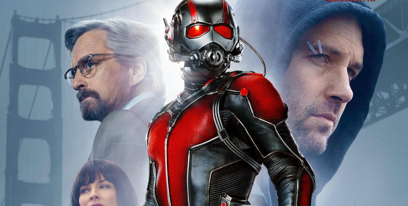 Homem-Formiga | Elenco reunido no pôster inédito da adaptação da Marvel Studios