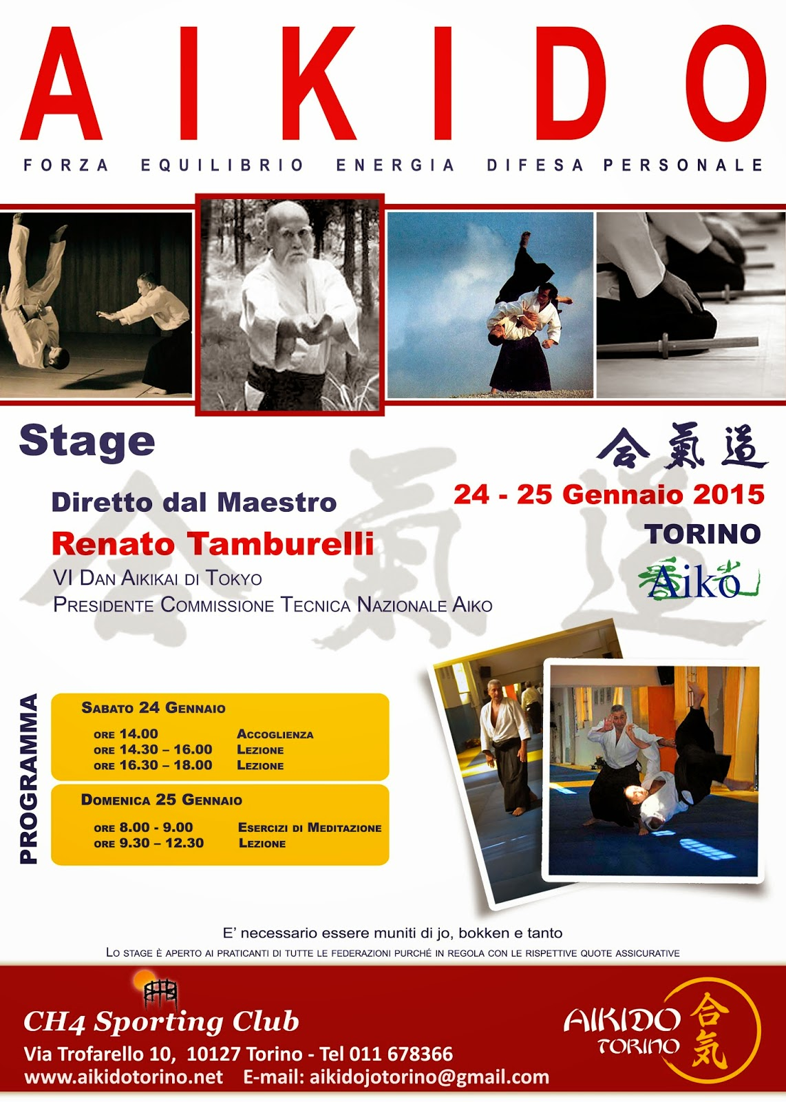 Aikido Torino Stage Invernale