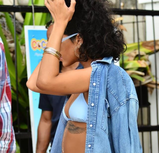 Sin tetas no hay paraíso Rihanna