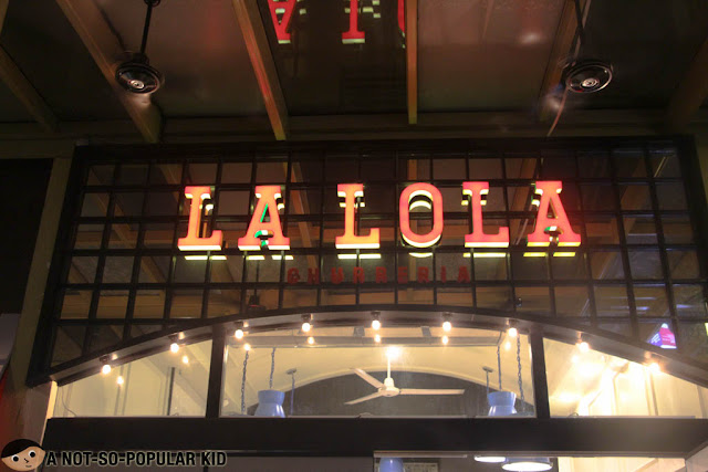 La Lola Churreria in Serendra, Taguig