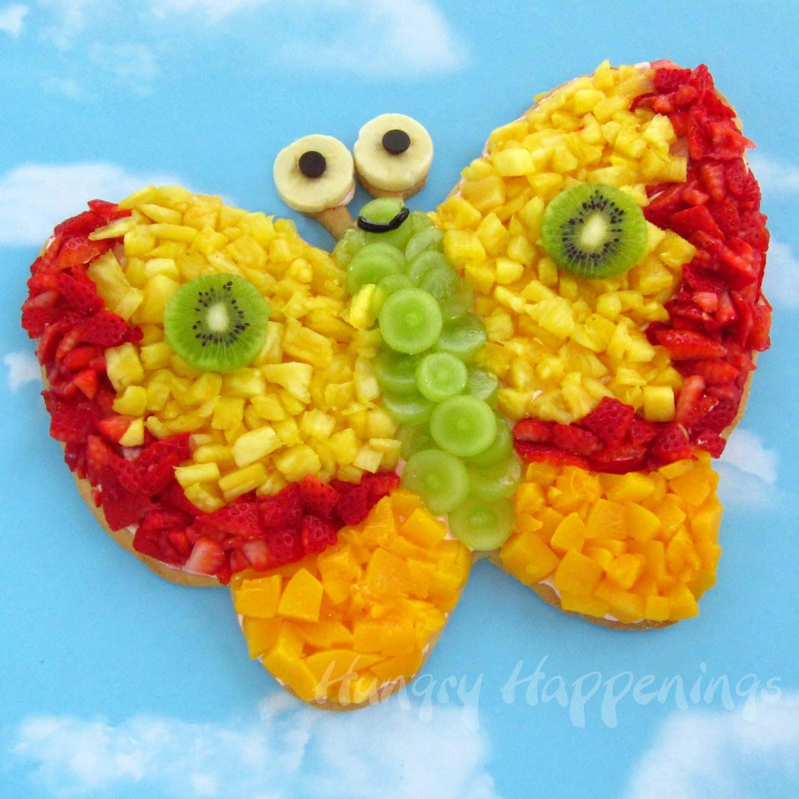 Бабочки своими руками из фруктов и