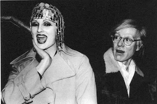 Candy Darling & Andy Warhol